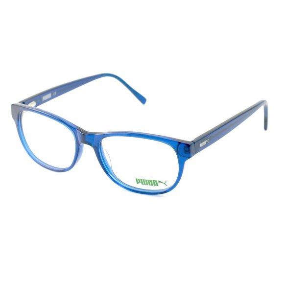 Puma Oval Style Clear Blue Frame